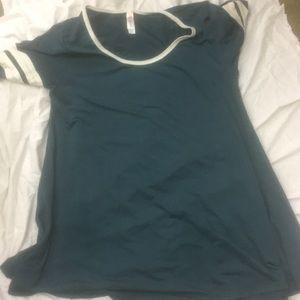 Lularoe top new sz m bagged tonic blouse
